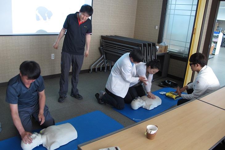 6월23일 SK테크노파크내 근로자 대상 심폐소생술교육 1.JPG